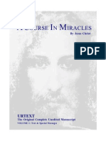 A Course in Miracles Urtext Ready to Print Book