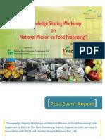Post Event Report_Knowledge Workshop_NMFP_Gujarat
