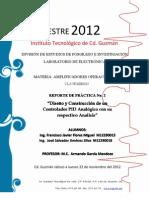Practica II - Controlador PID Analogico