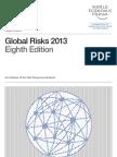 World Economic Forum Jan 2013 DAVOS Global Risks Assessment