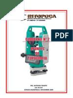 2. CUADERNOS INTOPOCA Nº 2 (APUNTES DE TOPOGRAFIA)