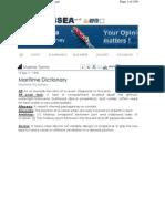 marine terminology