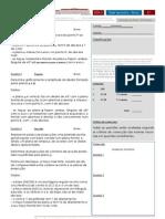 Teste GDA II - 2.1 2009 02 12