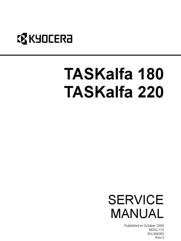 TASKalfa-180-220-SM-UK | Electrical Connector | Compact Cassette
