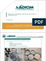 Carlos Thomas - Dosificaciones y durabilidad del hormigón reciclado de aplicación estructural
