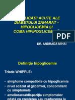 hipoglicemie