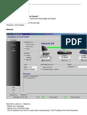 dreambox-control-center pdf | Usb Flash Drive | Computer File