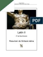 Resumen de Sintaxis
