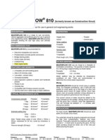 masterflow 810 brochure