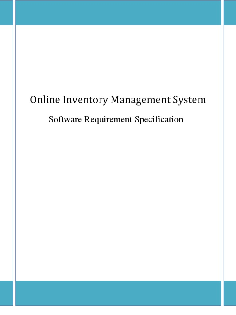 Online Inventory Management System Class Computer
