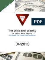 Dividend Weekly 04_2013