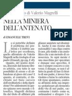 Elzeviro Di Emanuele Trevi Su Geologia Di Un Padre Di Valerio Magrelli - Corriere Della Sera Ed.nazionale 26.01.2013