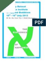 The Economics Of Happiness_Wake Up Retreat 2013_EIAB