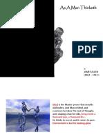 As a Man Thinketh (Picture Book) (PDF version)
