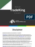 Review of TradeKing 2013