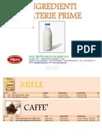 Materie Prime per Gelateria e Pasticceria Di Sano Srl