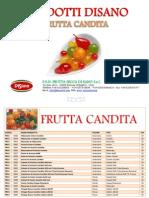 Frutta Candita - Di Sano Srl