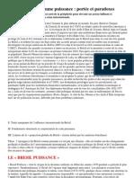 Le Brésil comme puissance - portée et paradoxes