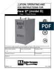 Installation, Operating and Service Instructions for Burnham Series 2 Gas-Fired Boiler