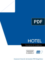 hotel standard and guidelines