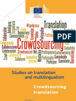 Crowdsourcing in Translation