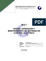 APUNTEgeneralmódulo(E7)Diseño,operaciónymantenimientodesistemasdecontrolelectricos