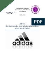 Adidas - ani de inovatie pe piata ghetelor de fotbal