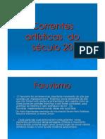 artes visuais [drel] 2007_correntes artísticas do século 20