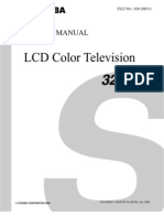 32HL95 Toshiba Manual de Servicio