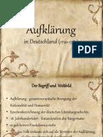 Prosvjetiteljstvo (Aufklärung) - Njemački jezik