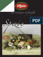 Catalogo Spezie Di Sano Srl