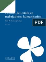 Gestion Del Estres en Trabajadores Humanitarios Guia de Buenas Practicas