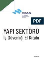 Yapı Sektörü ISG El Kitabı (CSGB)