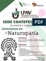 Lic. en Naturopatia Upav
