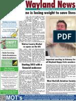The Wayland News February 2013