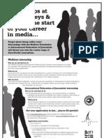 Walkley and IFJ Internship Info