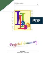 Feasibility Study (Shirt Printing)