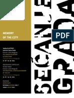 International Symposium MEMORY OF THE CITY Cultural Centre of Belgrade
