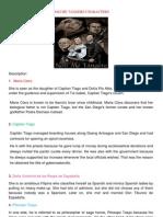 Analysis of Noli Me Tangere Characters