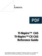 TI-Nspire CAS Reference Guide