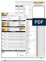 Star wars d20 fillable Character sheet