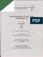 Homeostasis y Constantes Fisiologicas
