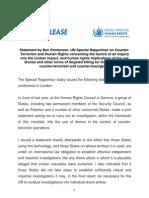 UNHR Press Release 2013 Jan 24