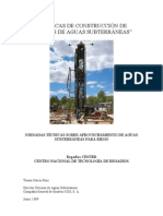 Tecnicas de Construccion de Sondeos de Aguas Subterraneas Parte 1 2009