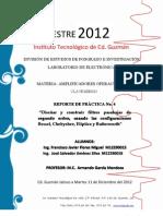 Practica IV - Filtro Pasabajas Bessel, Chebyshev, Eliptico y Butterworth.pdf