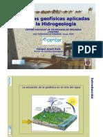 Tecnicas Geofisicas Aplicadas a La Hidrogeologia