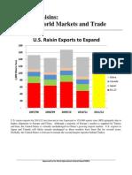 Raisins world markets and trade