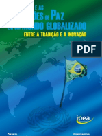 O Brasil e as operações de paz em um mundo globalizado
