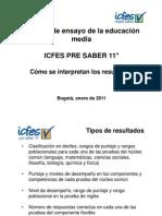 Guia - Como se interpretan los resultados examen de ensayo Icfes Pre Saber 11.pdf