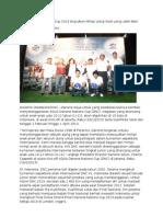 Danone Nations Cup 2013 kembali Digelar di Indonesia